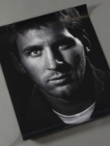 Joachim Ladefoged. Portrait of Lionel Messi, 2012