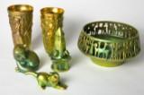 Konvolut Zsolnay, Ungarn, 1970-200, Pecs. Keramik (6)