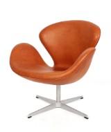 Arne Jacobsen. The Swan chair, model 3320. New upholstery