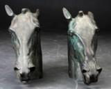 Bronze hestehoveder afstøbning fra Fontana di Trevi i Rom (2)
