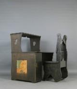 Kunstnerskrivebord med stol (2)