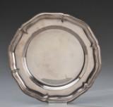 Carl M. Cohr. Tallerken af sølv