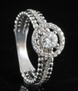 18kt diamond ring approx. 0.60ct