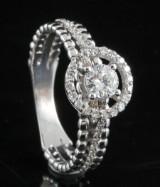 18kt diamond ring approx. 0.60ct