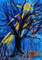 Jon Gislason. 'Under træet'