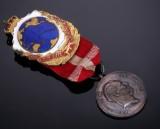 Frederik IX, Galethea Ekspeditionen 1950-52 - Sjælden medalje i sølv