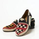 Stubbs & Wootton loafers i flerfärgat mönster