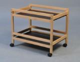 Børge Mogensen. Rullebord / Bakkebord, model 5370 i Oregon pine
