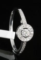 18kt diamond ring approx. 0.28ct