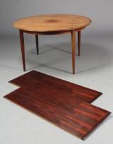 Dansk møbelproducent. Spisebord, palisander