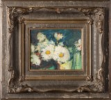 A painting, still life with flowers