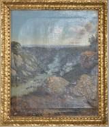 Oljemålning. Birk Gray, kopia efter Niemanns