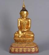 Burmese Buddha, Awa period, early 20th century