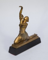 Otto Hafenrichter, 'Orientalische Tänzerin', bronze
