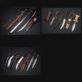 Samling af primært blankvåben fra Sudan (12)