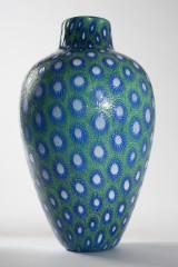 A vase, 'Puntini', Vittorio Ferro for Vetreria Fratelli Pagnin