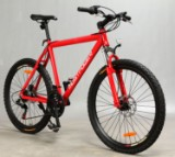 26' MostPower Mountainbike, Hardtail, Rød 54 cm stel