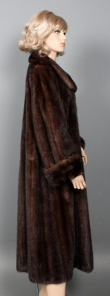 Saga Mink coat, size approx. 44-46