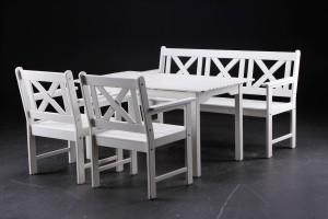 Frisk Slutpris för Hvide havemøbler 4 CN-76