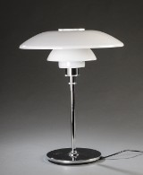 Table lamp from Louis Poulsen, PH 4½-3½ by Poul Henningsen