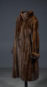Levinsky fur coat, mink, approx. size 42-44