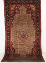 Handknuten äkta matta, Koliai, 280x150 cm