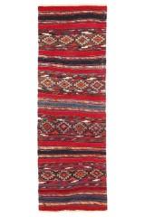 Persisk Shahsavan Kelim 290 x 95 cm.