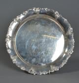 Fad af sølv med gravering fra 1953