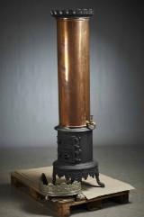 Vandvarmer i kobber og støbejern 1900´tallet (1)