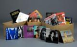 Samling plader / LP'er, blandet rock og pop (ca. 550)