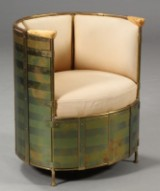 Mats Theselius. Lounge chair, Model El Dorado, numbered limited edition