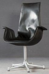 Jørgen Kastholm & Preben Fabricius, chair/office chair model Tulip for Kill International