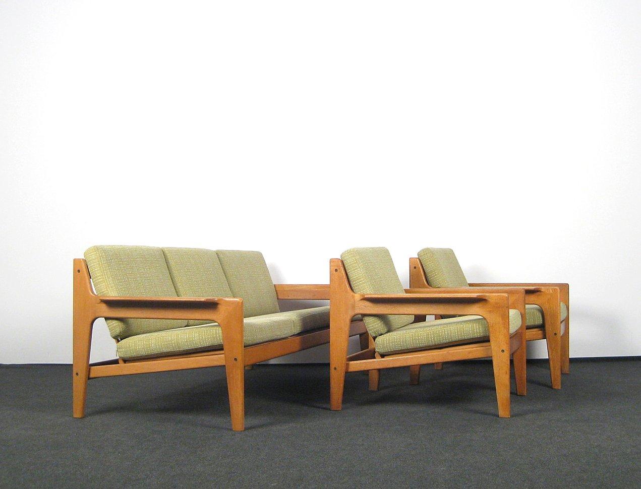 Dreier Sofa auktionstipset arne wahl iversen lounge suite dreier sofa paar