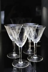 Kristall-Champagnergläser (4)