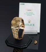 Vintage Rolex Day-Date, men's watch, 18 karat gold