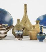 Samling keramik, miniatyrer mm (23)