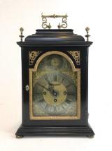 Austrian bracket clock by Johann Vellauer from Vienna