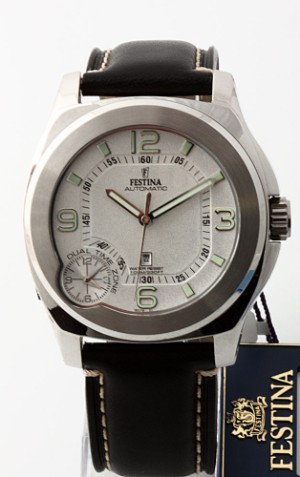 Lauritz.com - Watches - Festina Automatic herrearmbåndsur af ...