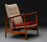 Finn Juhl. Armchair, model SW-86, 1960's