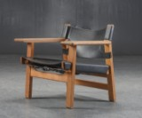 Børge Mogensen. 'The Spanish Chair', Model 2226, in oak