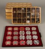 Sølvmønter og jubilæumsmønter sølv med mere