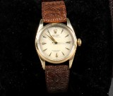 Rolex Oyster Perpetual, Bubble Back, Golden Egg, ref. 6334, c. 1954
