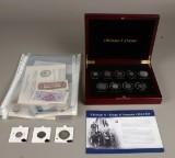 Guldmønter, jubilæumsmønter sølv og  Allierede overkommando