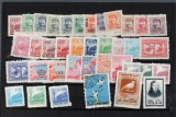 Samling kinesiske frimærker