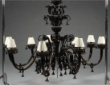 Andromeda Murano. Large chandelier