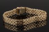 Armbånd af guld 14 kt.