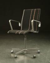 Arne Jacobsen. Oxford kontorstol, Paul Smith stof
