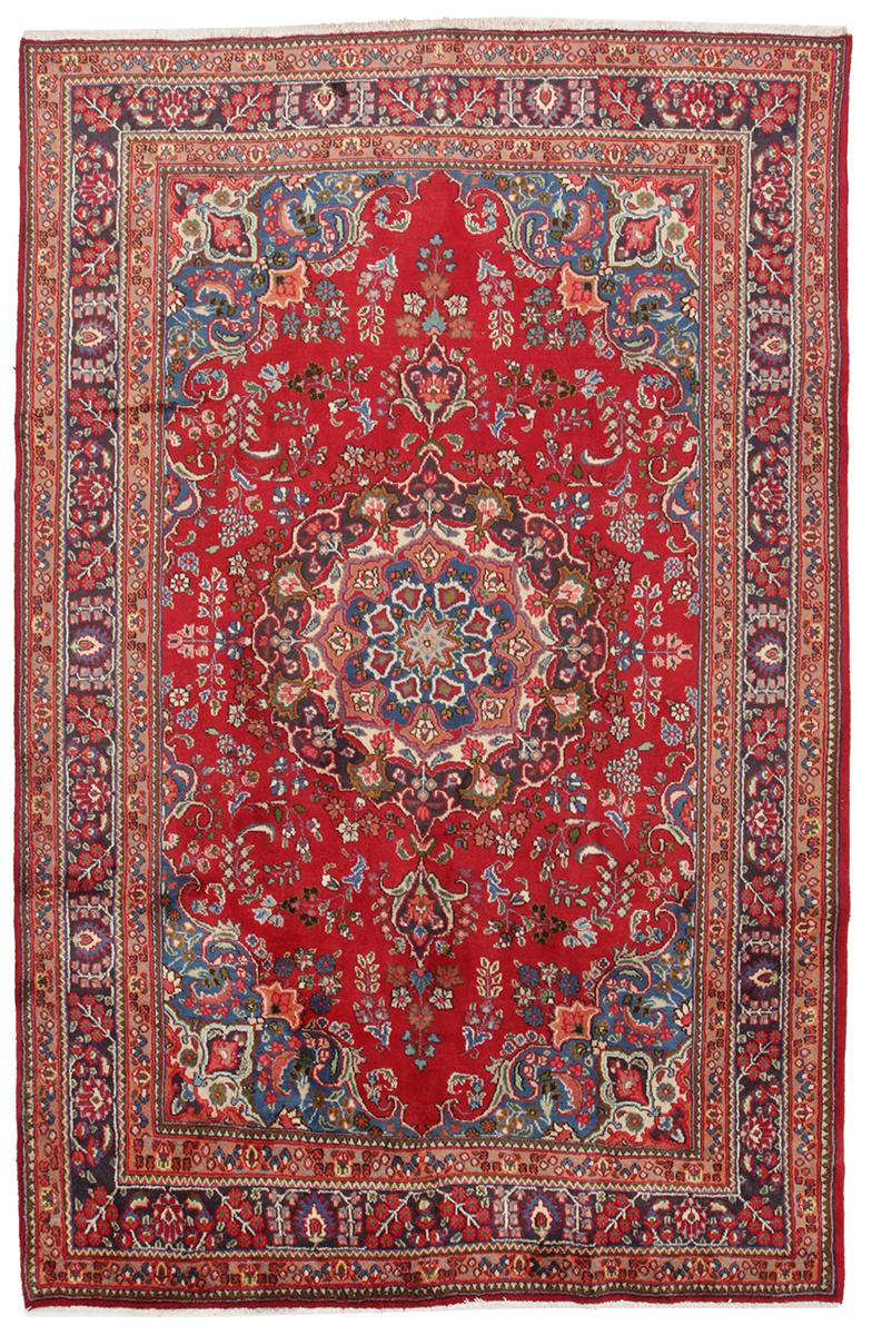 Persisk Sabzevar 300 x 190 cm - Persisk Sabzevar 300 x 190 cm Håndknyttet uld på bomuld