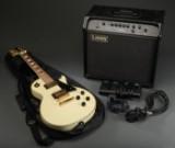 J&D Brothers guitar samt Laney P65 forstærker (2)