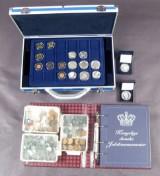 Danmark samling mønter